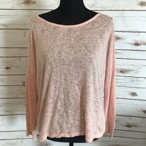 Forever 21 Blush Pink Top, Small